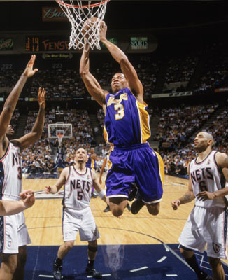 DAR Sports  2002 NBA Finals- Los Angeles Lakers vs New Jersey Nets ... c6d1616ca