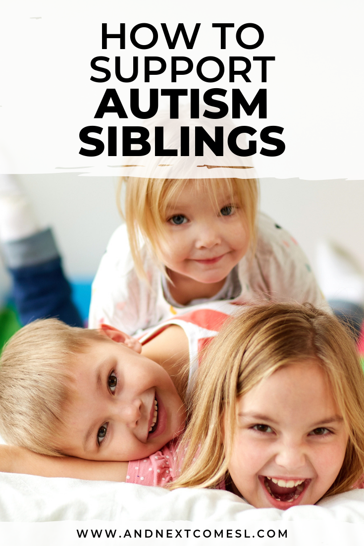 Tips for how to support siblings of autistic children