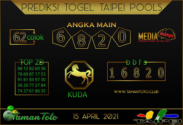 Prediksi Togel TAIPEI TAMAN TOTO 15 APRIL 2021