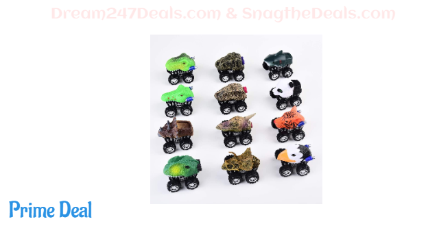 12 Pack Pull Back Cars Toys 50% OFF