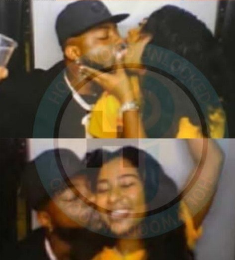 Nigerians react as Davido was caught kissing Mya Yafai weeks after they were spotted holding hands