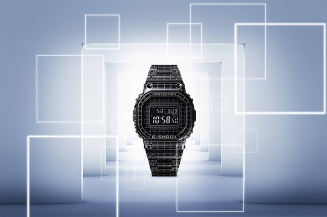 G-SHOCK Unveils Full Metal GMWB5000 With Premium Laser-Cut Grid Design