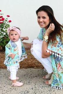 Baju Couple Cantik Ibu dan Anak 200020