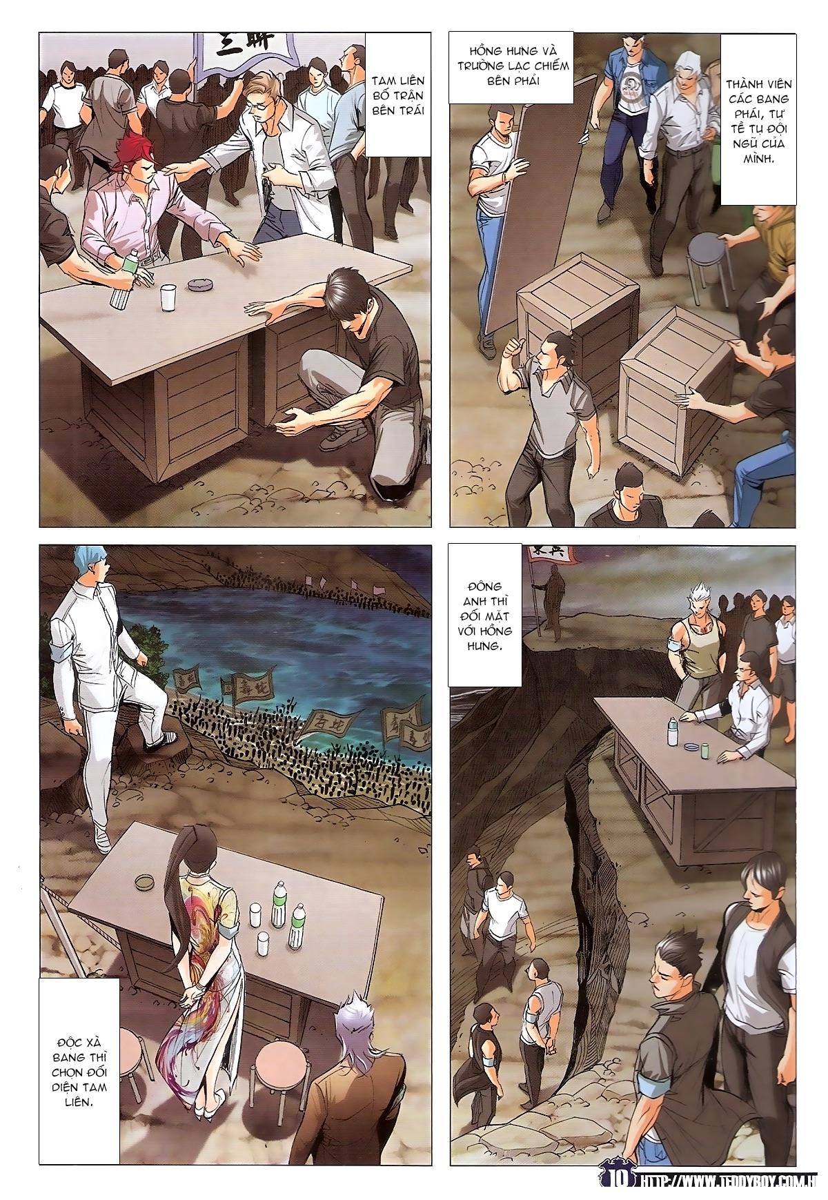 Người Trong Giang Hồ chapter 1829: khai chiến trang 8