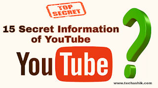 15 Unknown Secret Information about YouTube
