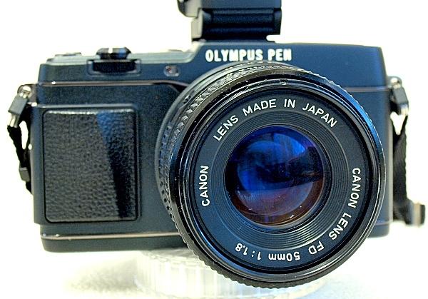 Olympus E-P5, Canon FDn 50mm F1.8