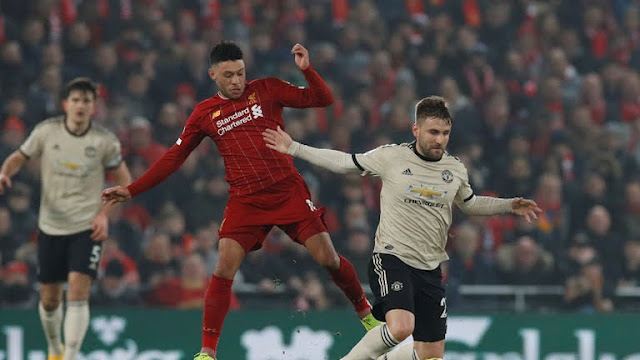 Manchester United not good enough for Champions League spot - Alan Shearer, Liverpool defeats Manchester United, Manchester United not good enough