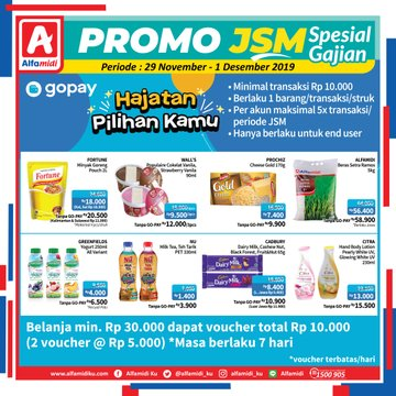 #Alfamidi - #Promo Katalog JSM Periode 29 Nov - 01 Des 2019