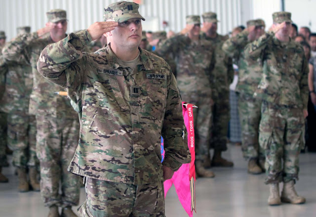 National Guard Springfield-based Unit Mobilizes for Kuwait Deployment, Metamora Herald