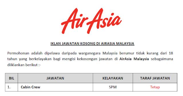 cabin crew airasia