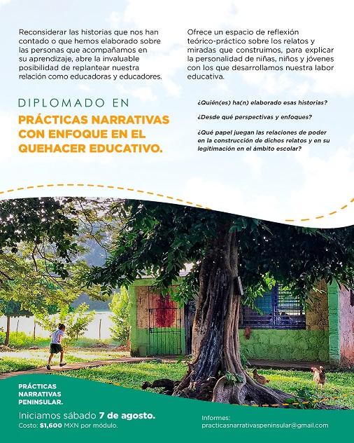 Diplomado en Prácticas Narrativas con enfoque en el Quehacer Educativo
