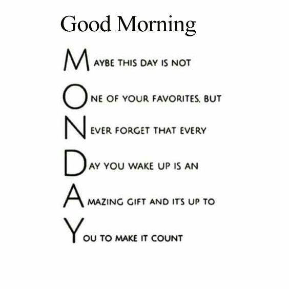 Måndags motivation!