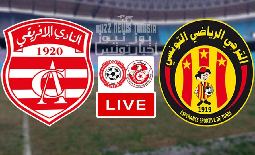 Match Derby Club Africain vs Esperance - Taraji Live Streaming