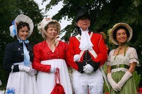 The Jane Austen Festival Promenade - in Parade Gardens