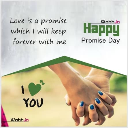 promise day shayari in english