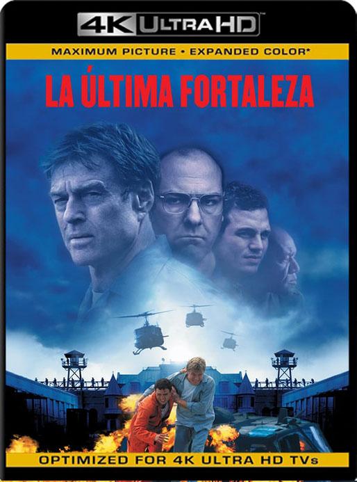 La última fortaleza (2001) 4K WEB-DL HDR Latino  [GoogleDrive] Tomyly