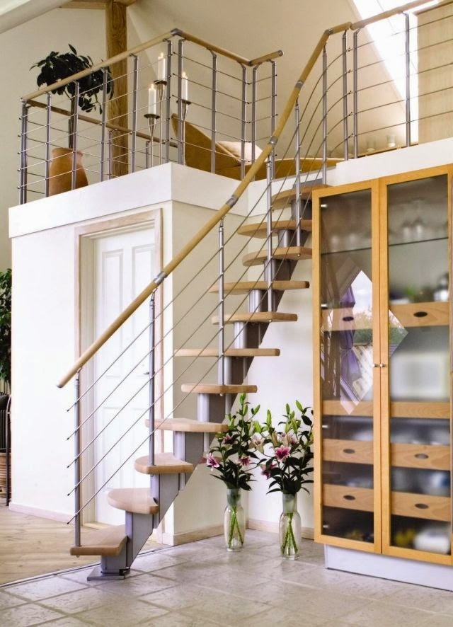 stair railings ideas