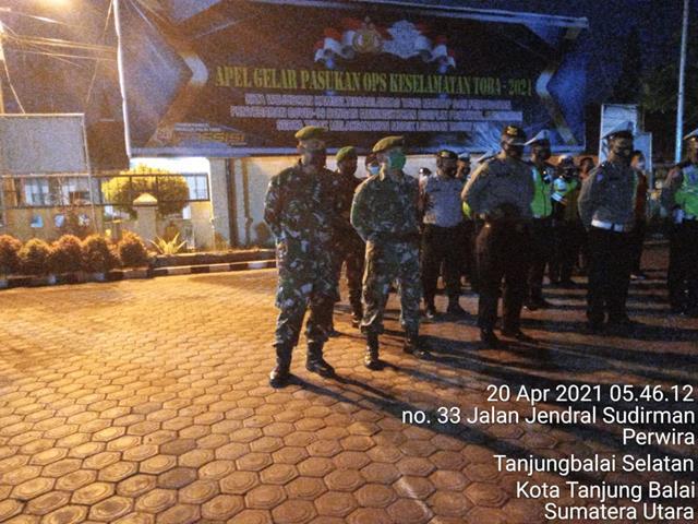 Laksanakan Patroli Asmara Subuh, Personel jajaran Kodim 0208/Asahan Bersama Instansi Lainnya