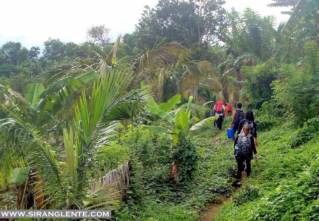 trails of Mt. Mabilog