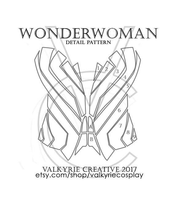 Patrones para Wonderwoman