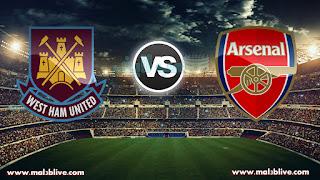 مشاهدة مباراة ارسنال ووست هام يونايتد Arsenal Vs West ham united بث مباشر بتاريخ 19-12-2017 كأس رابطة المحترفين الإنجليزية