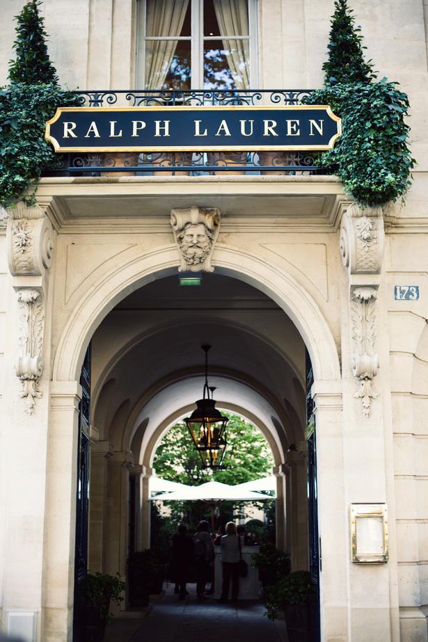 detalhes do c u o luxo da ralph lauren em paris. Black Bedroom Furniture Sets. Home Design Ideas
