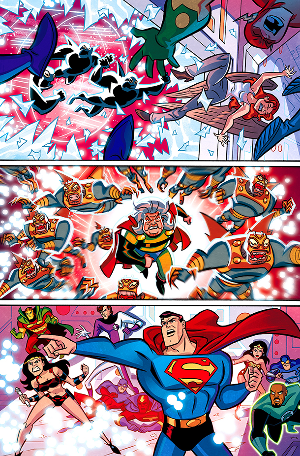 Justice League Infinity 1 - 1