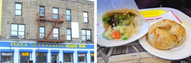 Brooklyn in a day: Falafel and a knish in Borough Park