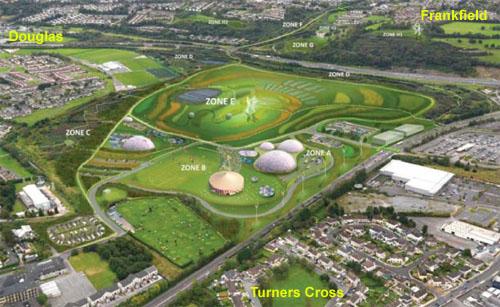 Urban plan Cork Ireland