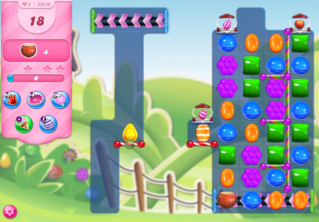 Candy Crush Saga level 5070