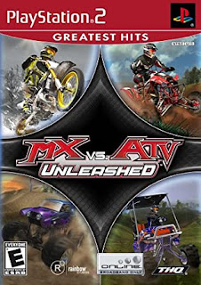 MX vs. ATV Unleashed PS2  ISO