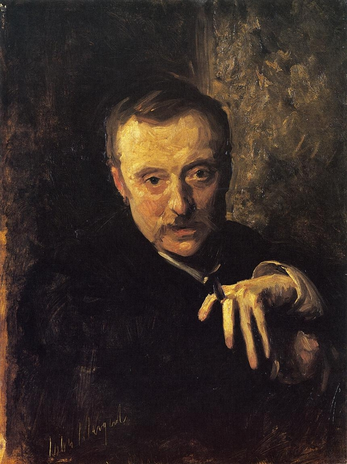 Antonio Mancini 1852-1930 by John Singer Sargent 1856-1925