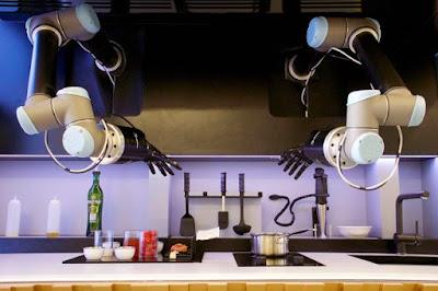 robot nấu ăn