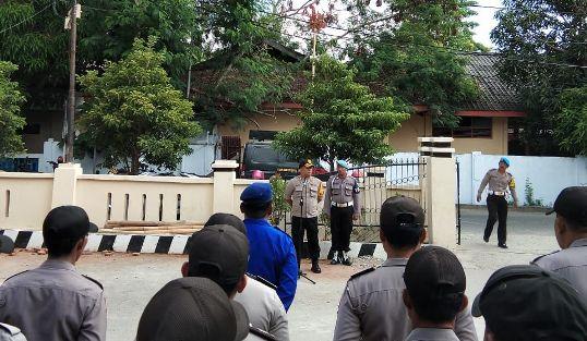 Polres Kep. Selayar, Siagakan Personil Amankan Pilkades Serempak 2018