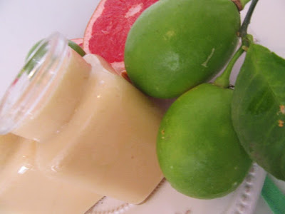 Grejp curd / Grapefruit curd