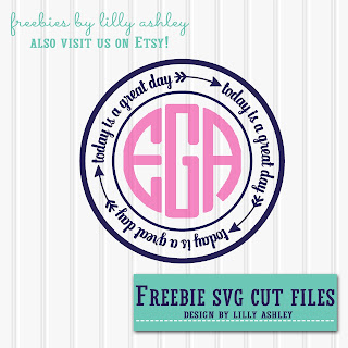 http://www.thelatestfind.com/2016/07/freebie-monogram-svg-arrow-circle-cut.html