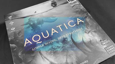 Aquatica boardgame box