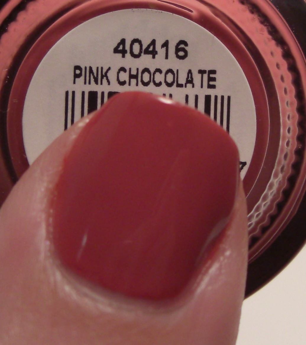 Glitter Obsession Orly Pink Chocolate