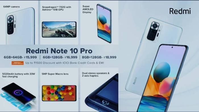Redmi Note 10 Pro Maret 2021