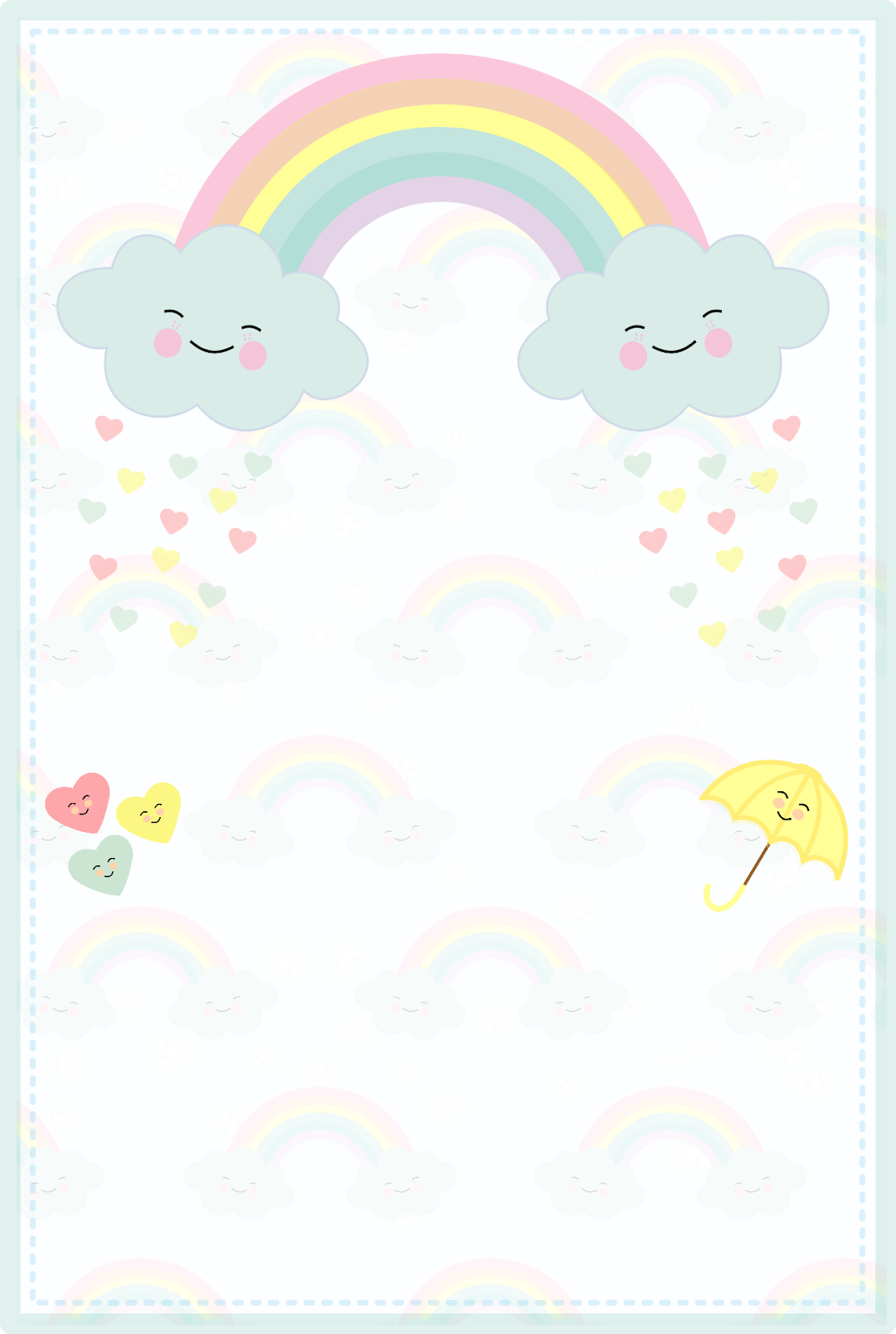 Tema Matrimonio De Amor : Convites tema chuva de amor para menina grátis baixar