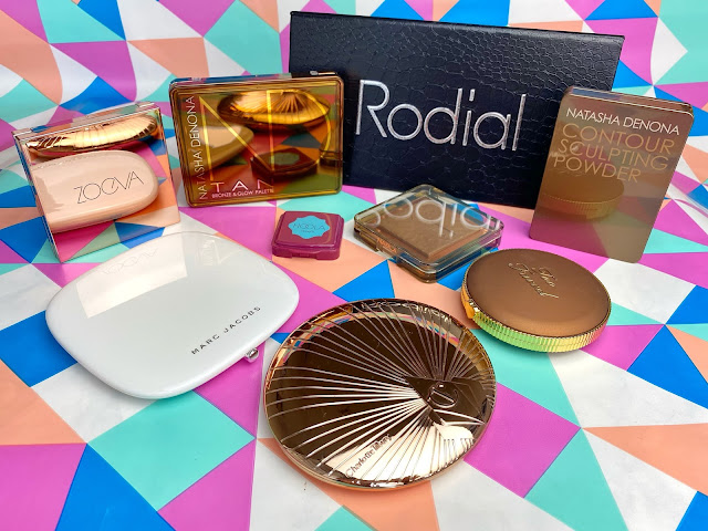 Vergleich Bronzer Zoeva Natasha Denona Marc Jacobs Too Faced Charlotte Tilbury Rodial Nable Benefit