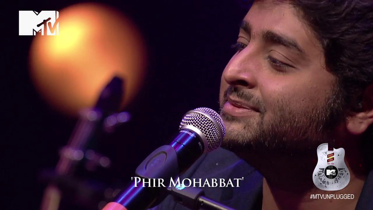 Mtv Unplugged Arjit Singh Phir Mohabbat