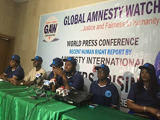 The Global Amnesty Watch,GAW