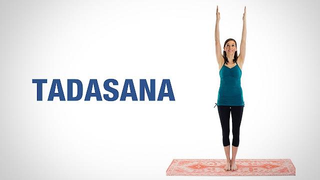 Hướng dẫn thực hiện bài tập yoga  Tadasana