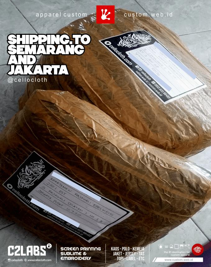 Otw Paket dari Jogja ke Semarang dan Jakarta - CelloshipCC