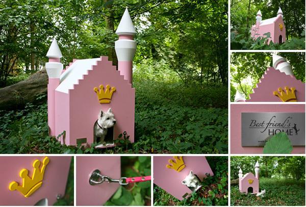 """Những ngôi nhà """"độc nhất quả đất"""" dành cho cún cưng"""