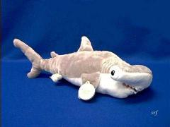 hammerhead shark plush stuffed animal toy