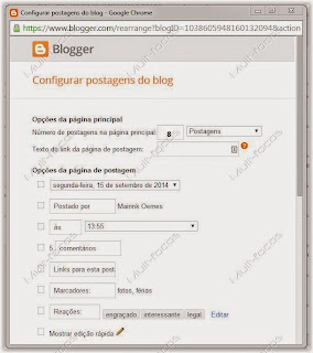 Conf post do blog