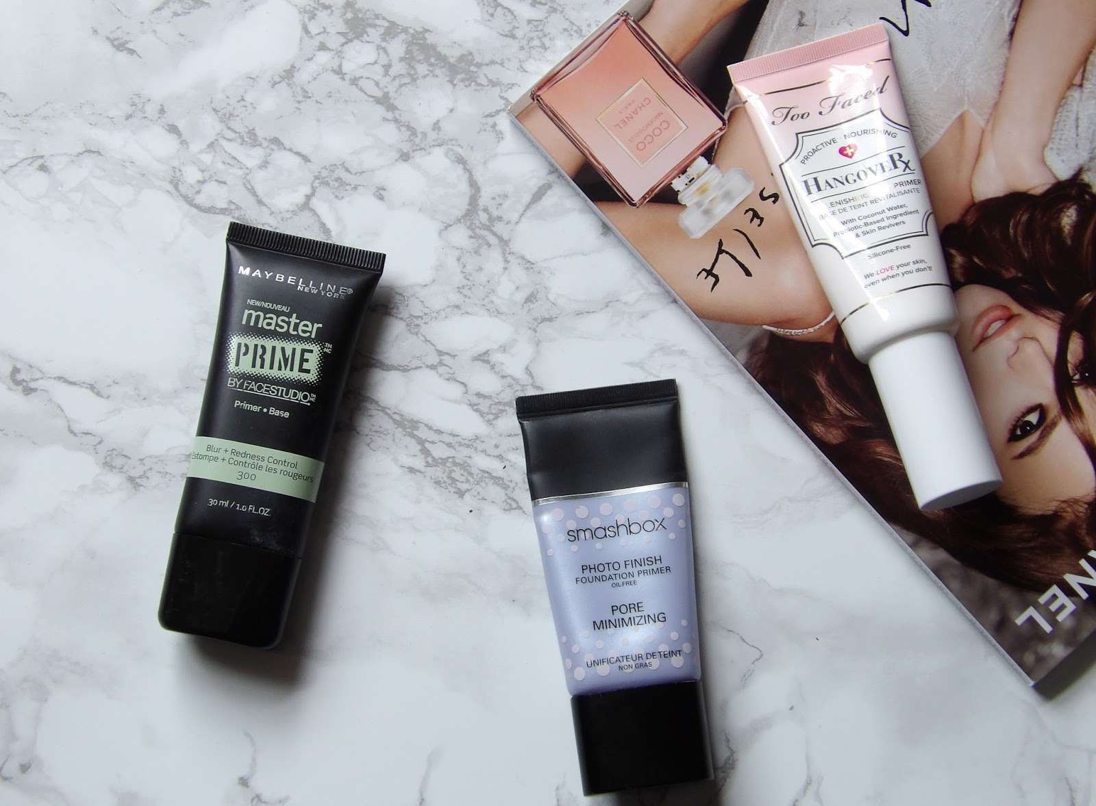 MY TOP 3 FACE PRIMERS