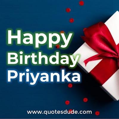 Happy Birthday Priyanka
